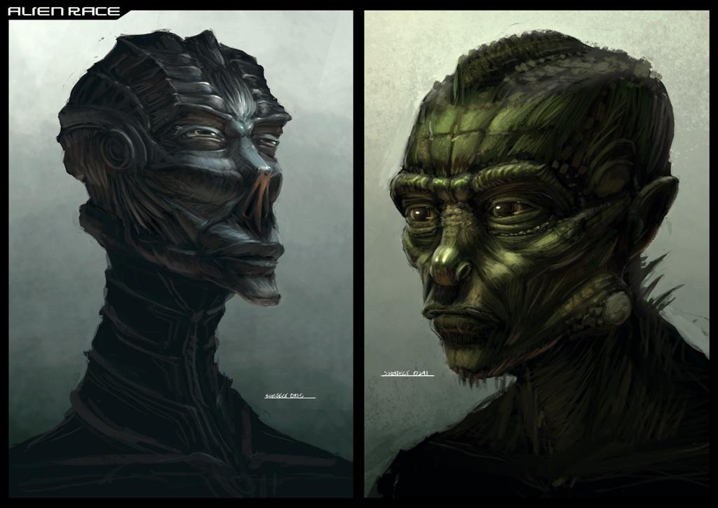 Alien Race Dan Shareza