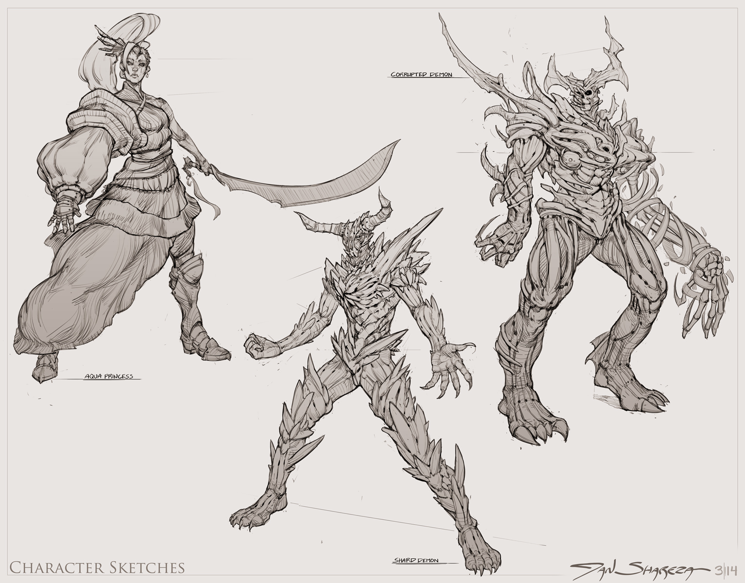 Character Sketches 001