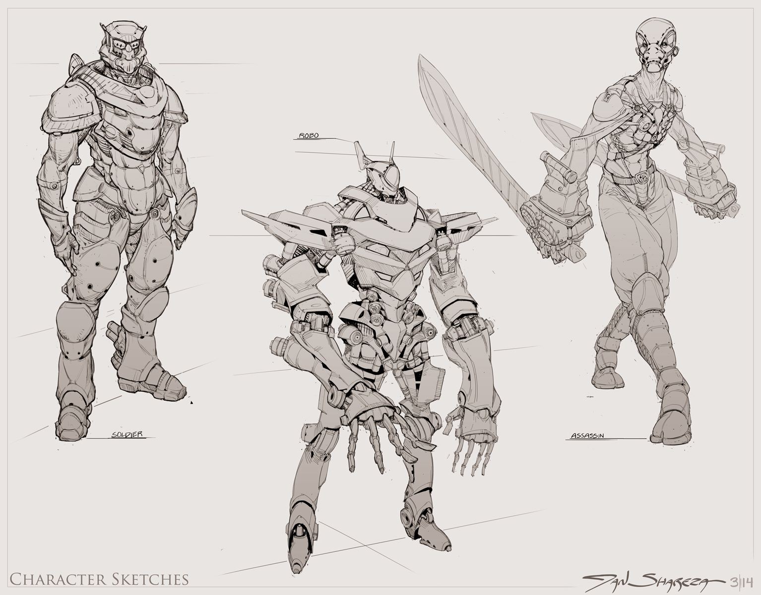Character Sketches 002