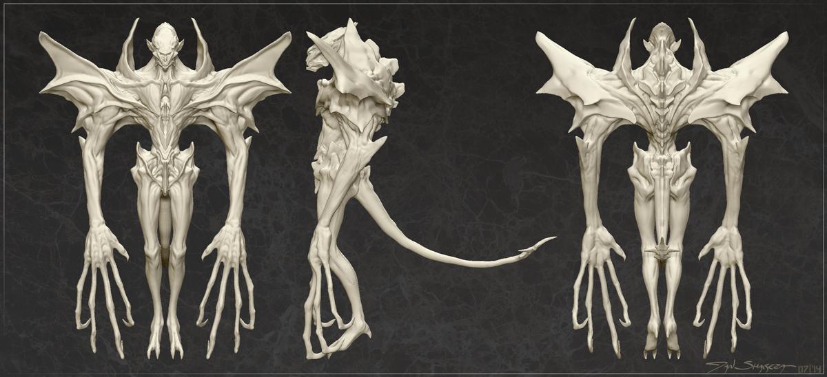 Gargoyle - Ortho Views